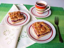 Ciasto śliwkowo-brzoskwiniowe z nutką pomarańczy