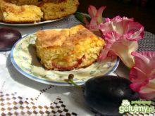 Ciasto śliwkowo-krówkowe