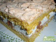Ciasto smietankowo  agrestowe