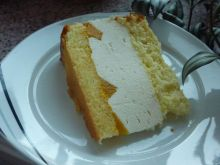 Ciasto śmietankowo serowe z cytryną