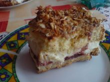 Ciasto śmietankowo - śliwkowe