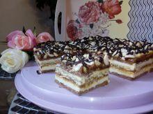 Ciasto snikers bez pieczenia