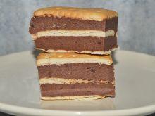 Ciasto stefanka (bez pieczenia) z kaszą manną