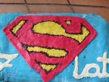 Ciasto Superman