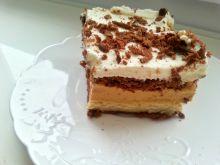 Ciasto toffi na czekoladowych herbatnikach