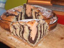 Ciasto tradycyjna zebra