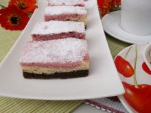 Ciasto trójkolorowe