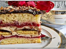 Ciasto truflowo wiśniowe