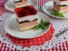 Ciasto truskawkowa fantazja