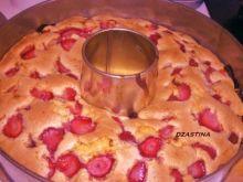 Ciasto truskawkowe  dzastiny