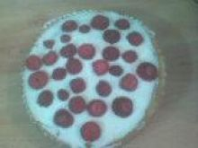Ciasto truskawkowe na zimno