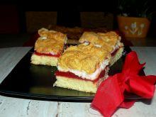 Ciasto truskawkowe z bezą