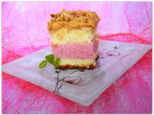 Ciasto truskawkowo-karmelowe