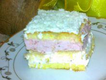 Ciasto truskawkowo-kokosowe