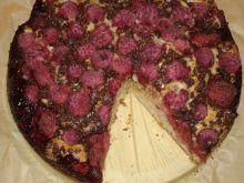Ciasto truskawkowo - malinowe na jogurcie