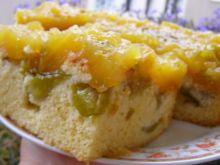 Ciasto ucierane śliwkowe z musem śliwkowym