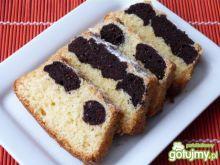 Ciasto ucierane waniliowo-kakaowe