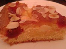 Ciasto ucierane z jabłkami i marmoladą