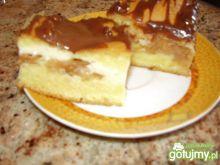Ciasto ucierane z jabłkiem i bydyniem