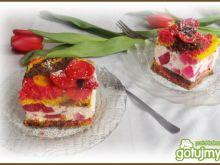 Ciasto w trzech kolorach