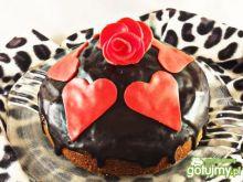 Ciasto- Walentynkowe Love