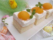 Ciasto wielkanocne ,,Jajko sadzone''