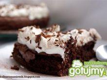 Ciasto winno-kawowe