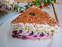 Ciasto wiosenna zebra