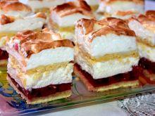 Ciasto wiśniowe z bezą