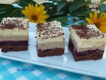 Ciasto wiśniowo-kawowo-advocatowe