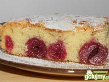 Ciasto  wiśniowo-migdałowe