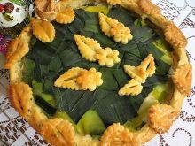 Ciasto wytrawne zielony torcik