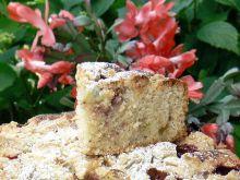 Ciasto z agrestem i truskawkami