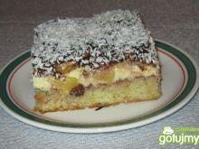 Ciasto z ananasem.