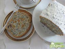Ciasto z białek z bakaliami