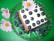 Ciasto z borówkami amerykańskimi