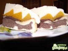 Ciasto z brzoskwinią
