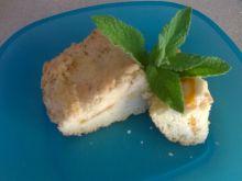 Ciasto z brzoskwiniami i kruszonką