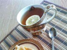 Ciasto z brzoskwiniami i skórką cytrynow