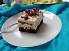 Ciasto z brzoskwiniami i kajmakiem