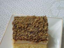 Ciasto  z budyniem i herbatnikami
