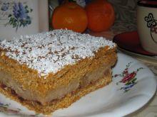Ciasto z bułkowym kremem
