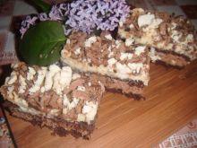Ciasto z cukierkami ,, michałkami''