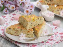 Ciasto z cukrową posypką