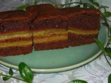 Ciasto z cynamonową nutką i rabarbarem