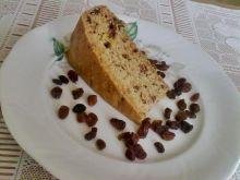 Ciasto z czekoladą i rodzynkami