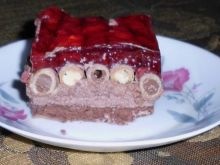 Ciasto z dodatkiem rurek