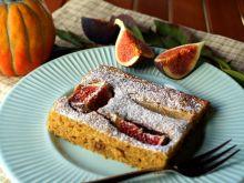 Ciasto z dynią, gruszką i figami