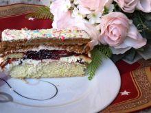 Ciasto z dżemem porzeczkowym