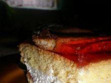 Ciasto z galaretką.